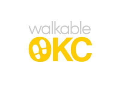 Walkable OKC Logo